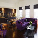 Penthouse Luxury serviced apartments Lounge at Old Town Chambers