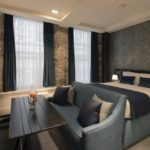 Studio Luxury serviced apartments Lounge at Old Town Chambers
