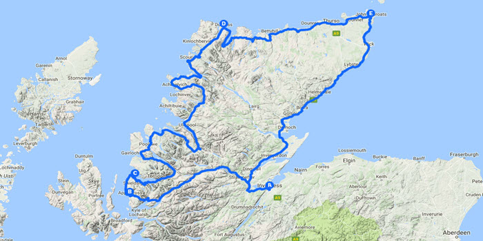 North Coast 500 Route