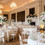 Wedding breakfast Hopetoun House