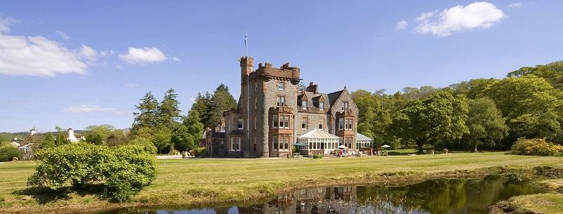 Isle-of-Eriska luxury weekend break in scotland