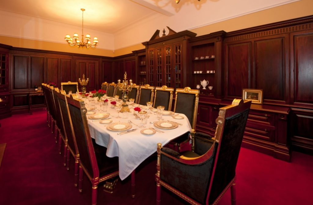 Private dining house of turin