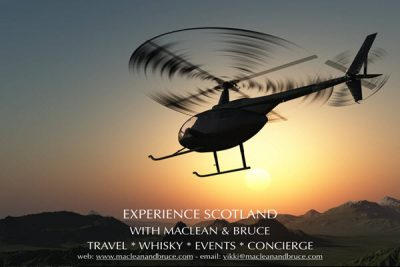 helicopter experience scotland whisky tastings