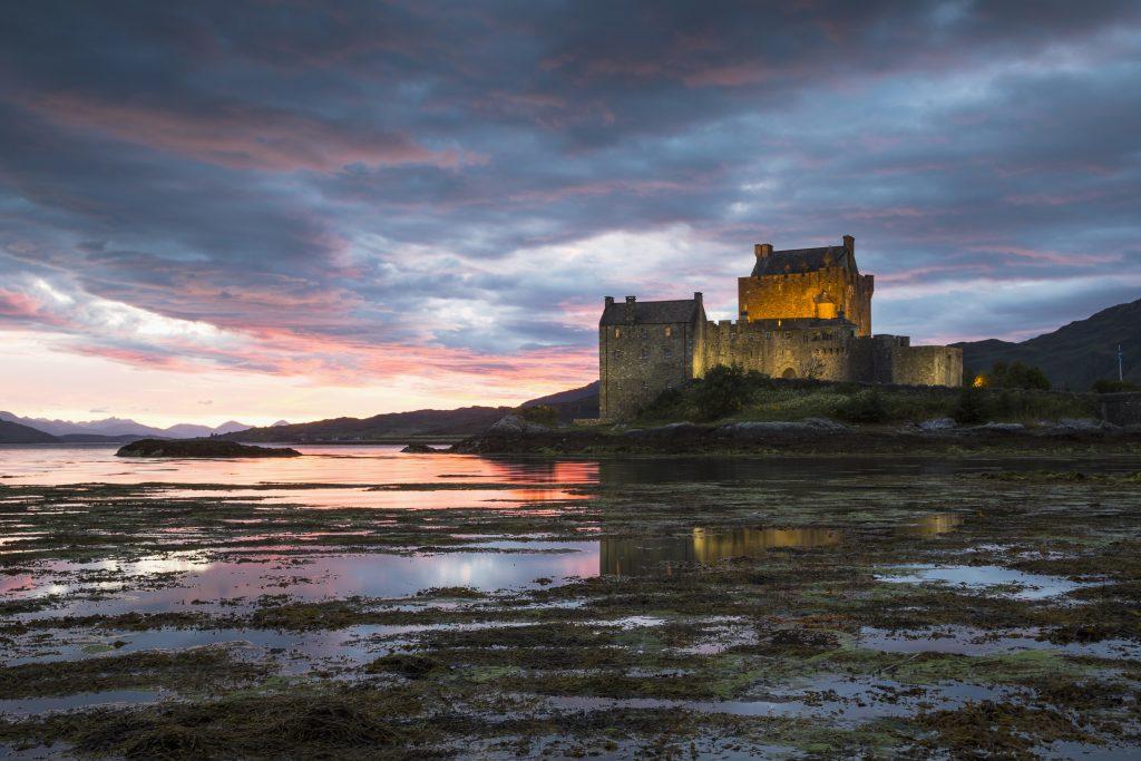 Eilean Donan Castle on Loch Duich