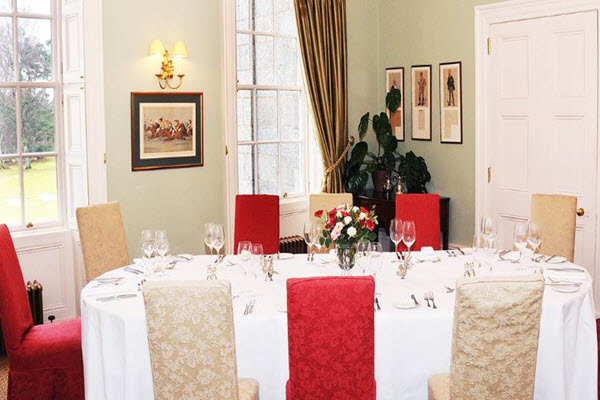 Private Dining Raemoir House Scotland