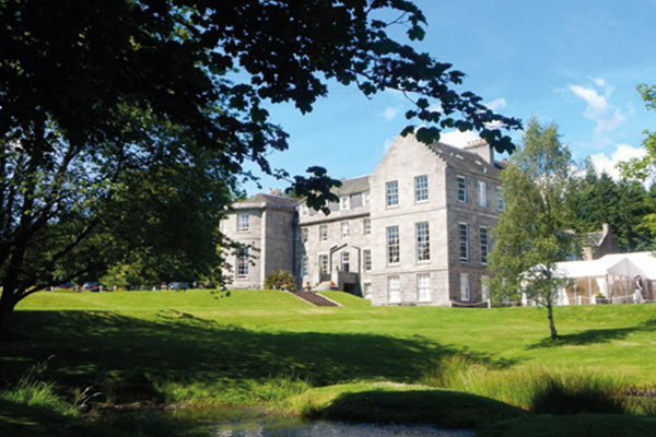 Luxury Country House Raemoir House Scotland