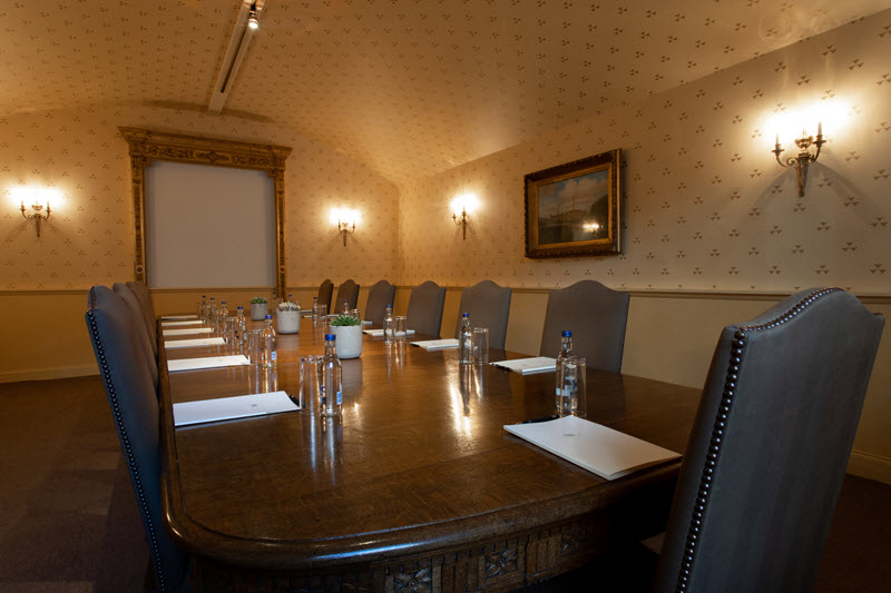 Dundas Castle Boardroom for Corporate event
