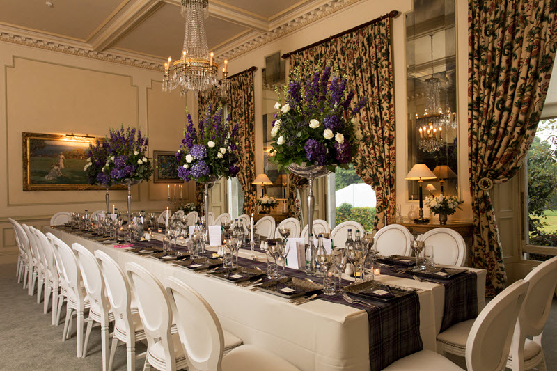 Dundas Castle Private Dining Room
