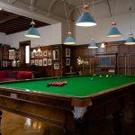 Dundas Castlle Billiards room