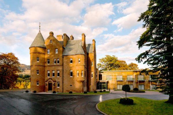 Fonab Castle luxury breaks with loch views in Scotland