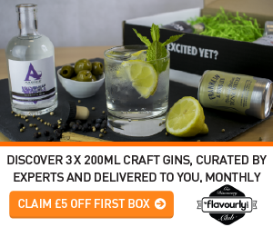 Flavourly Craft Gin Gift Subscription