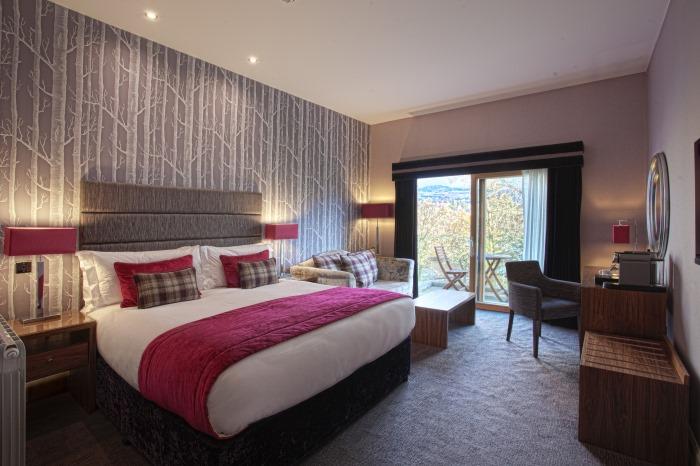 Luxury Break with loch views Fonab Castle Scotland