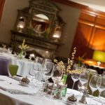 Private dining Fonab Castle Perthshire