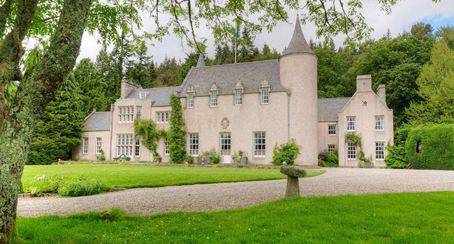 Candacraig Luxury breaks Scotland
