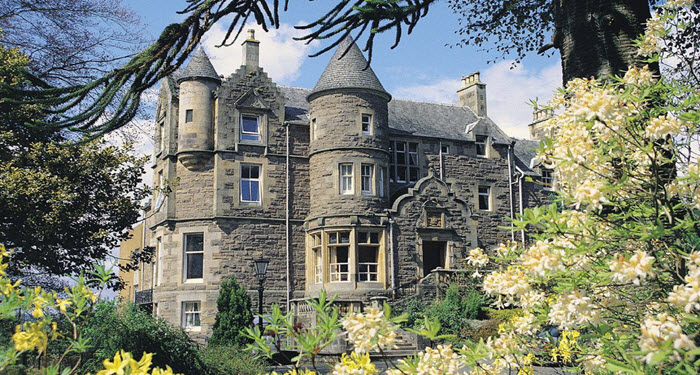Knock Castle Luxury in Crieff
