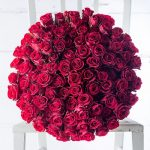 Grand Bouquet 100 Red Roses