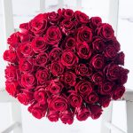 50 Red Roses Luxury Bouquet