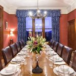 Alladale Lodge Diningroom