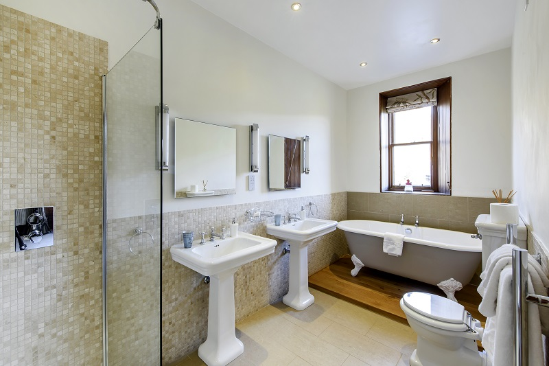 Alladale Lodge Bathroom