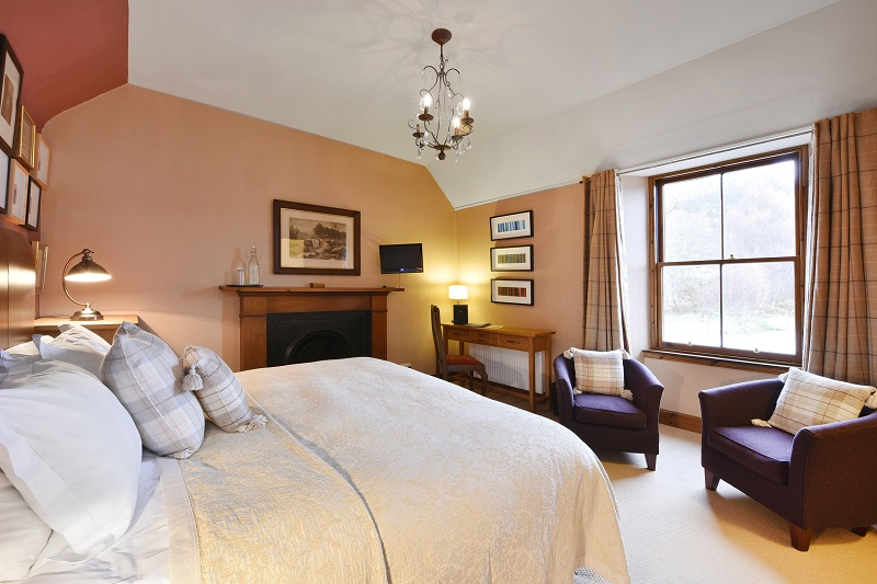 Alladale Lodge Bedroom