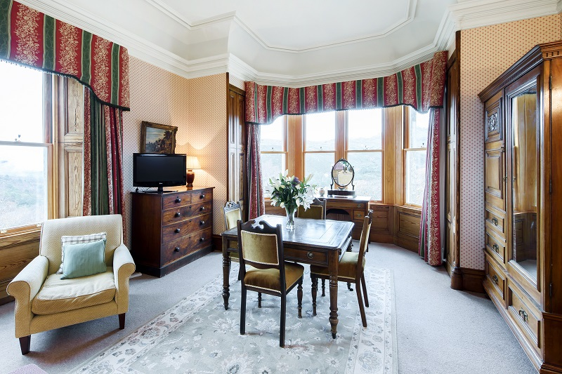 Alladale Lodge Drawing Room