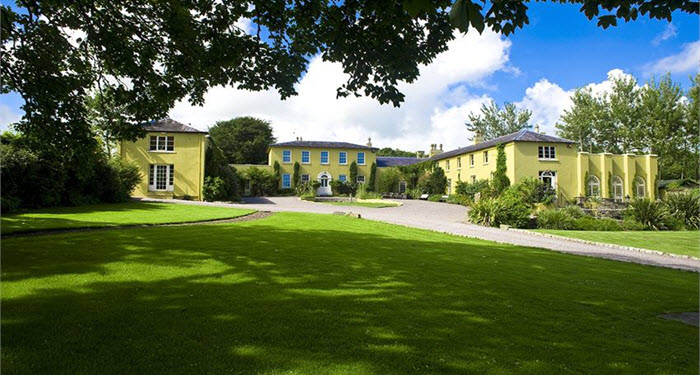 Ballinacurra House exclusive use luxury Kinsale Ireland
