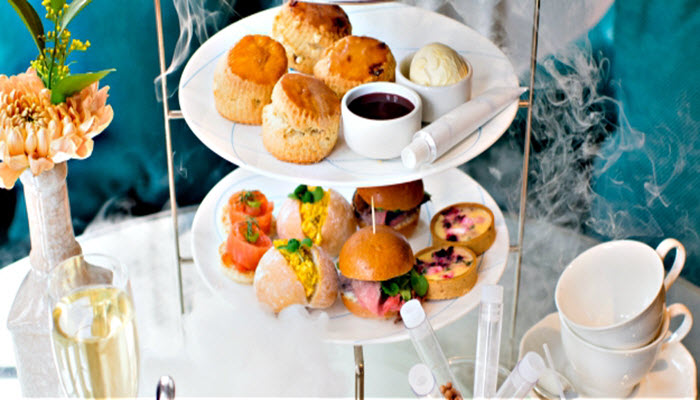 Champagne afternoon Tea Ampersand London