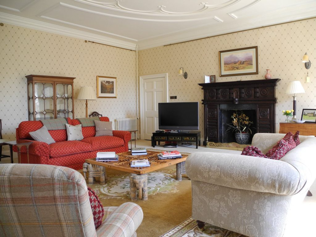Blair Estate Scotland Luxury Exclusive Cecily Blair Sitting Room