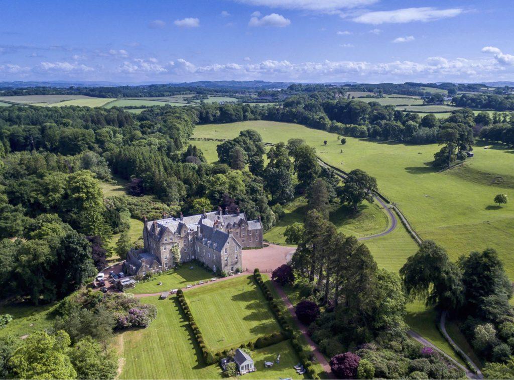 Blair Estate Scotland Luxury View
