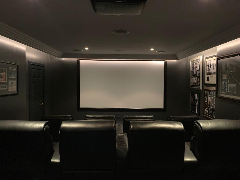 Cinema Room, Edgehill House